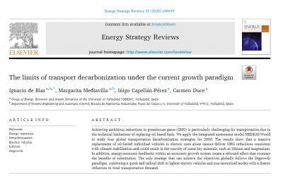 """Respuesta a las críticas recibidas a nuestro artículo """"The limits of transport decarbonization under the current growth paradigm"""""""