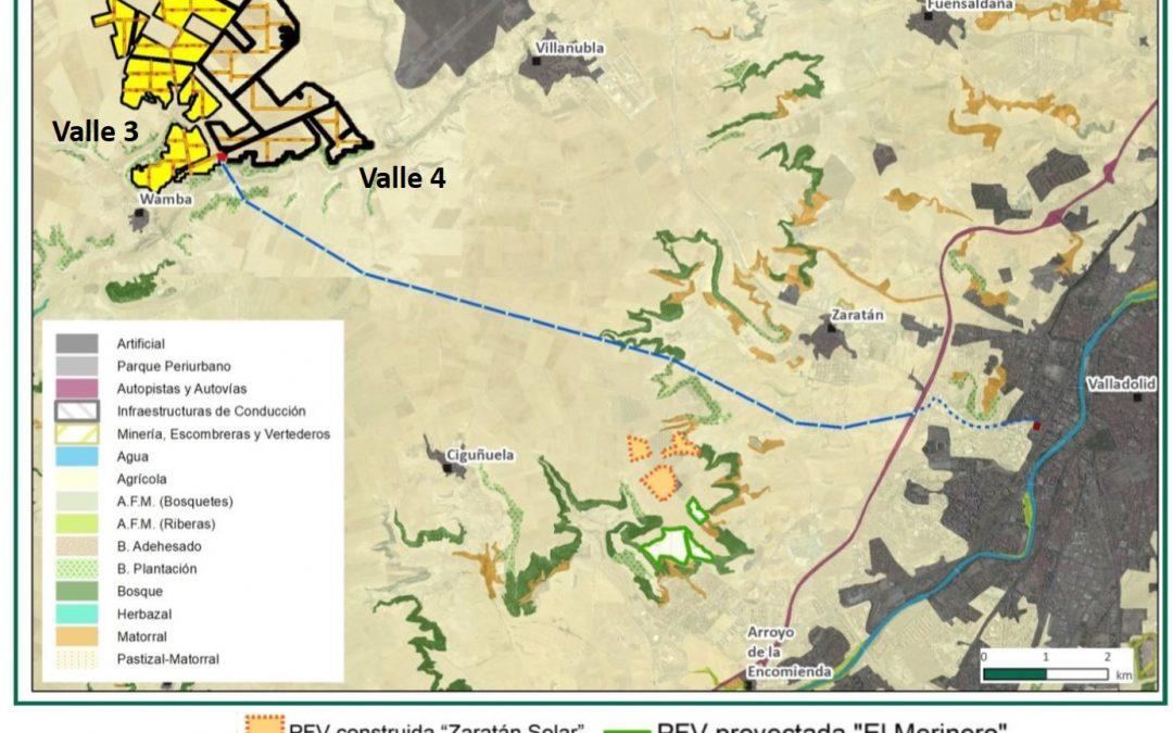 ¿Cuántos parques solares necesitamos en Valladolid?